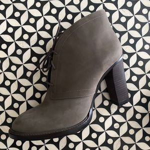 Vince Camuto Lehanna Lace-up Bootie, Grey